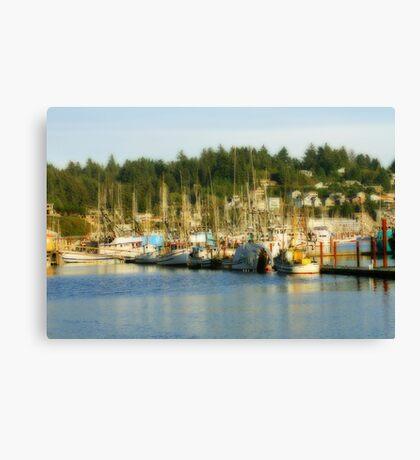 Fishing Fleet #1 Canvas Print