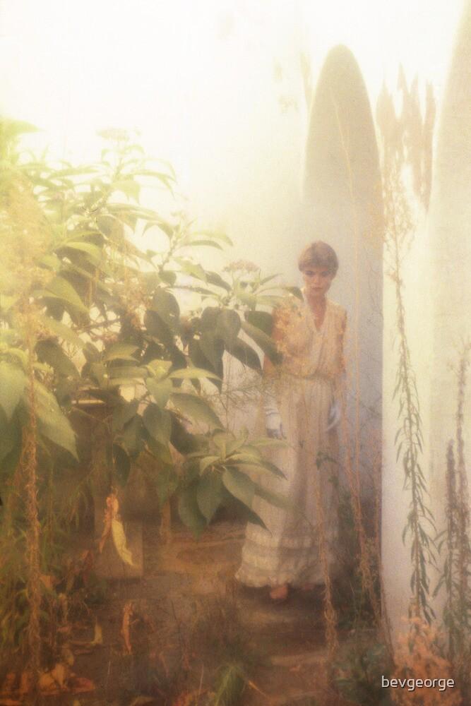 Margie in the Prison Garden by bevgeorge