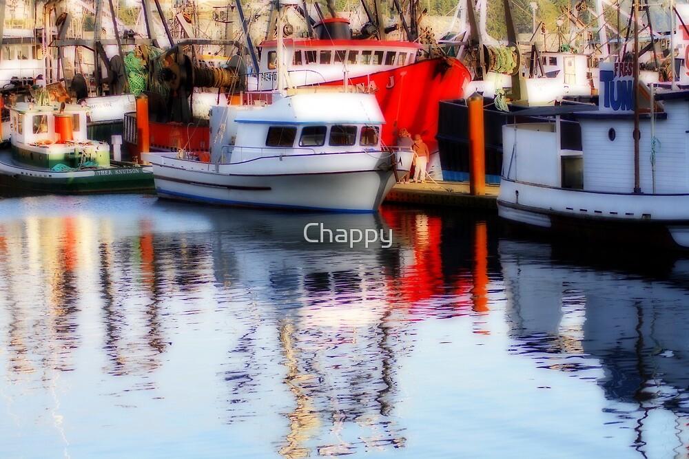 Fishing Fleet #2 by Chappy