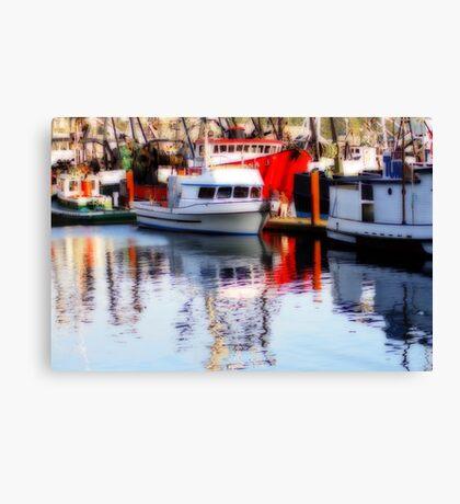 Fishing Fleet #2 Canvas Print