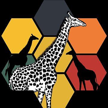 Giraffe Okapi by GeschenkIdee