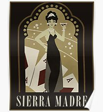 Sierra Madre Poster Design Poster