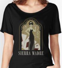 Sierra Madre Poster Design Women's Relaxed Fit T-Shirt