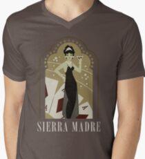 Sierra Madre Poster Design Men's V-Neck T-Shirt