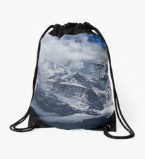 The Peak of Annapurna II, Nepal Drawstring Bag