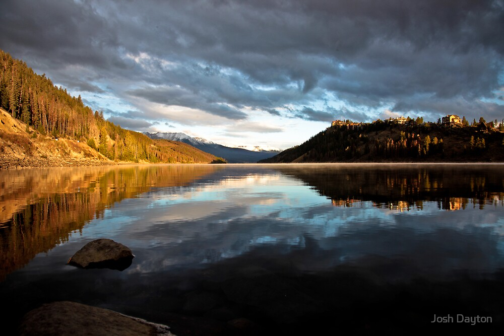 Sunrise over Lake Dillon by Josh Dayton