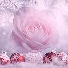 Christmas Rose With Winter Theme by hurmerinta