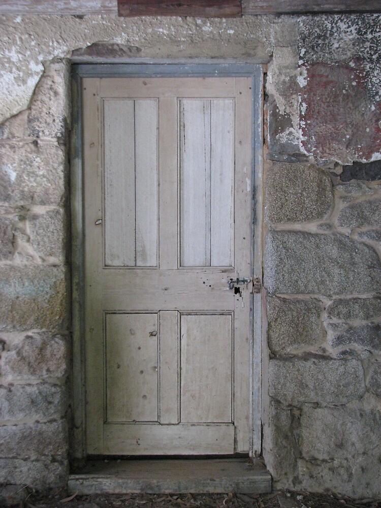 Old door - homestead - Greenvale by mrsnatetah
