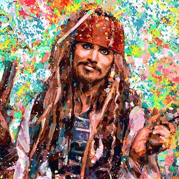 Portrait Johnny Depp dream by ADIYAKOV