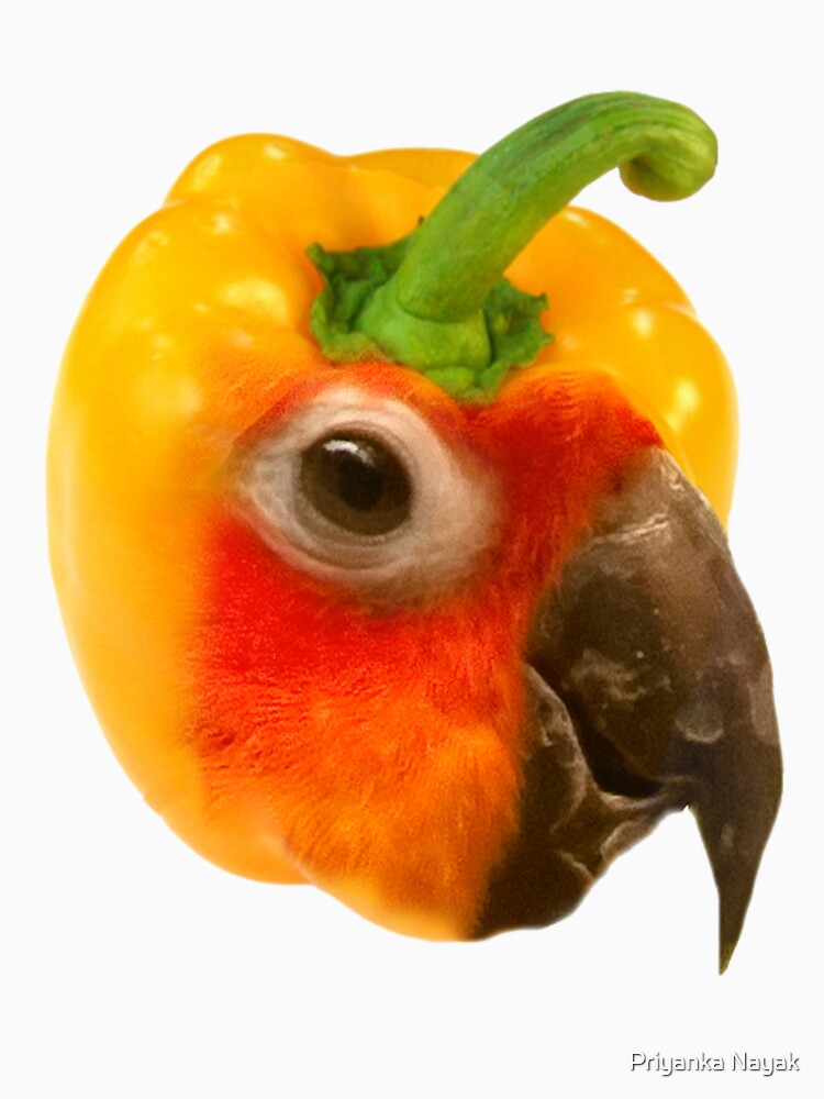 A talking bell pepper  by priyankan2005