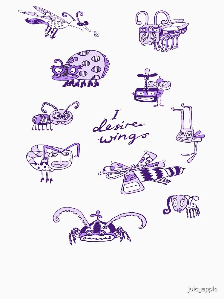 I desire wings by juicyapple