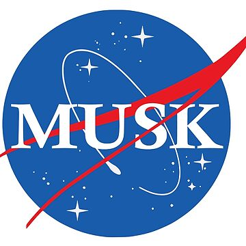 Nasa Musk Logo by idaspark