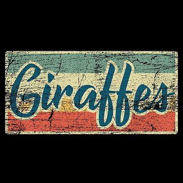 giraffes by GeschenkIdee