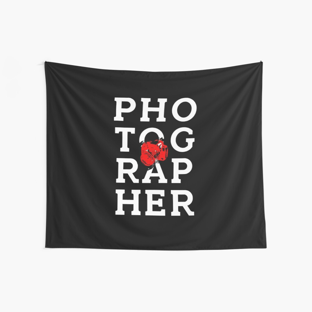 Photographer - Photographer Wall Tapestry