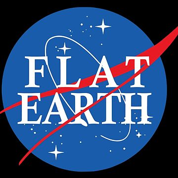 Nasa Flat Earth Logo by idaspark