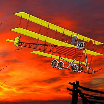A.V. Roe Triplane 1910 by ZipaC