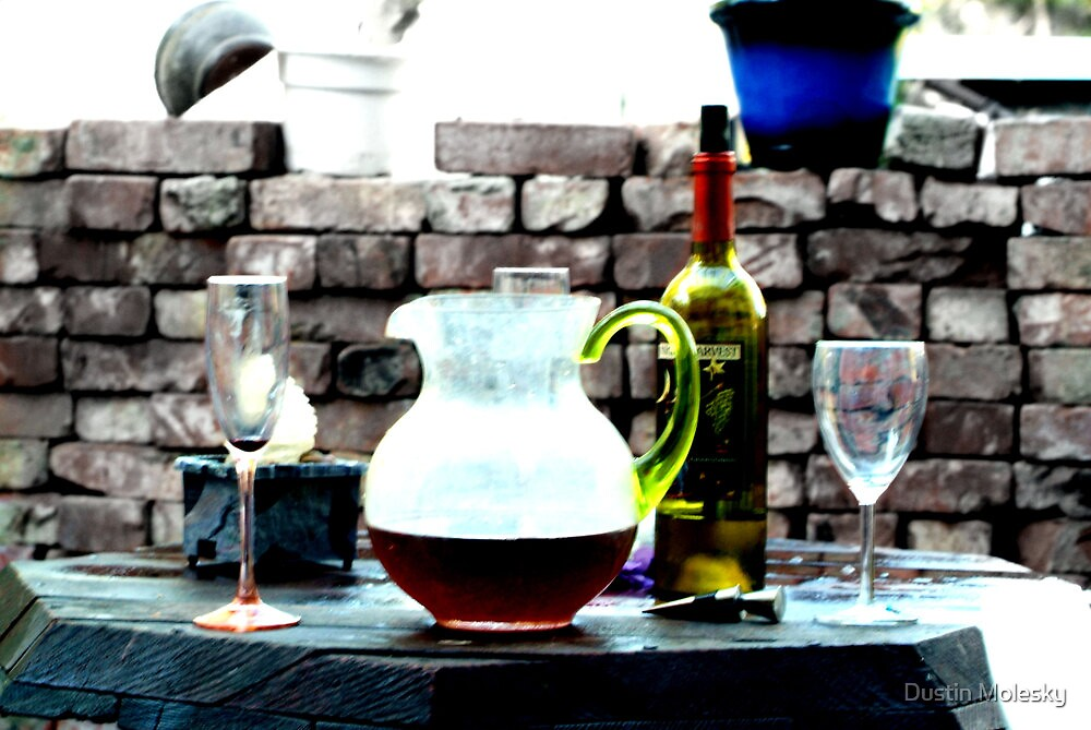 Wine Porch by Dustin Molesky