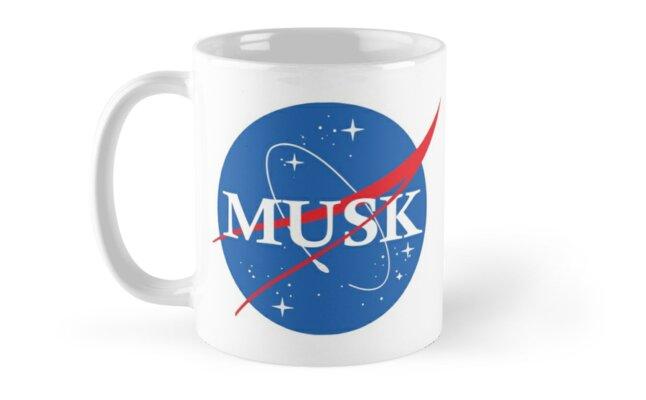 Nasa Musk Logo by idaspark