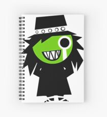 The Hitcher Spiral Notebook
