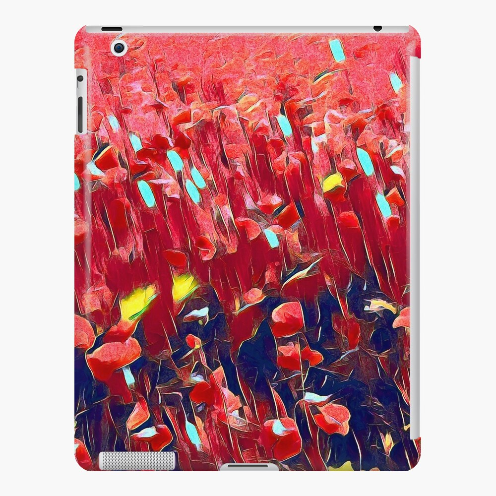 Magical poppy field iPad Case & Skin
