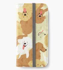 Golden Retriever iPhone Flip-Case/Hülle/Klebefolie