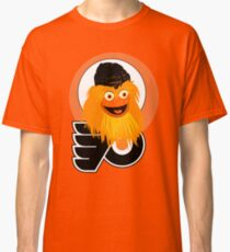 The head of mascot Gritty the Flyers Classic T-Shirt