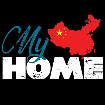 My home China gift flag Christmas by tamerch