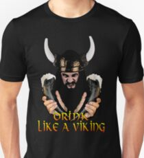 e8bb3722 Viking Beer Drinker Slim Fit T-Shirt