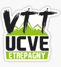 UCVE Etrepagny VTT Sticker