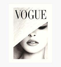Lámina artística Vogue Covert Wall Art