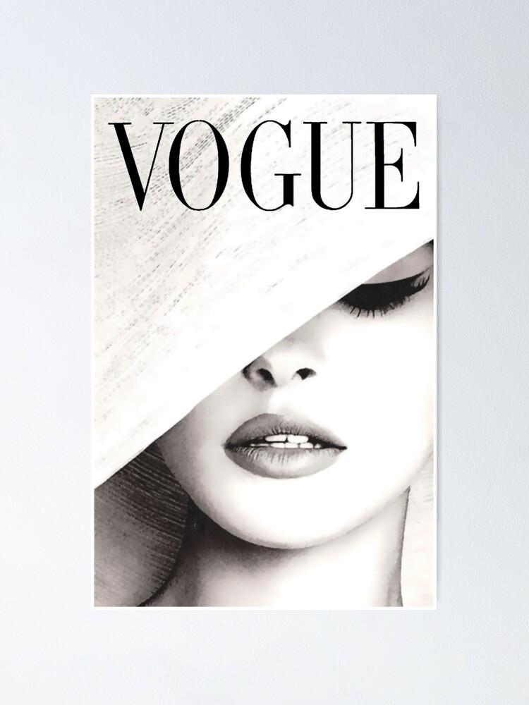 Alternate view of Vogue Covert Wall Art Poster