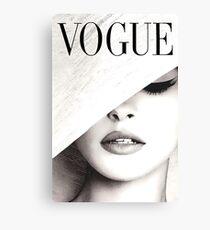 Vogue Covert Wall Art Canvas Print