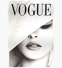 Vogue Covert Wand Kunst Poster