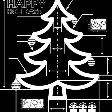 Christmas tree blueprint | Christmas gift by anziehend