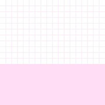 Girly Pink Grid On White Above Girly Pink by rewstudio