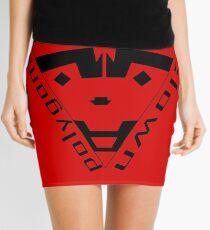 insane clown polygons Mini Skirt