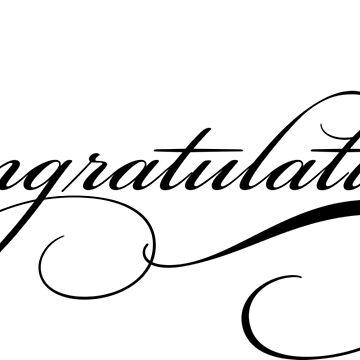 congratulations by kathrynne