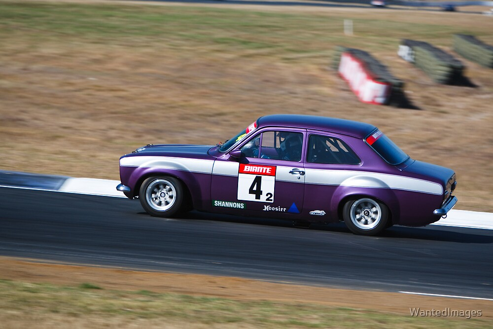 Phil Showers - 1972 Ford Escort RS by WantedImages