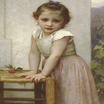 Yvonne-William Adolphe Bouguereau by LexBauer