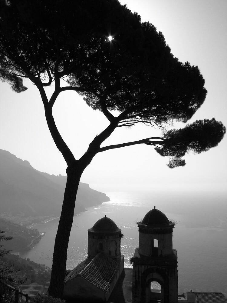 Church tops in Ravello (classic) by Christian Langenegger