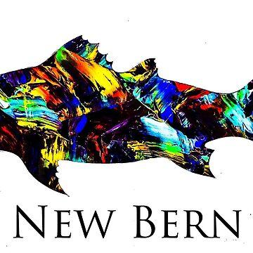 New Bern redfish  by barryknauff