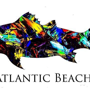 Atlantic Beach redfish  by barryknauff
