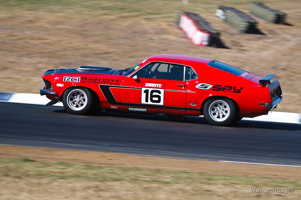 Gavin Bullas - 1969 Ford Mustang (2009 Group 1 Champion) by WantedImages