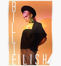 Billie Eilish dontsmileatme  Poster