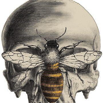Bee Skull by acond3