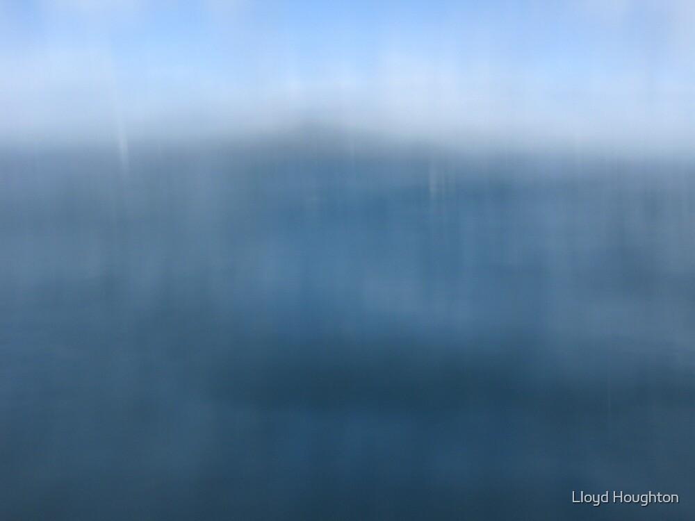 Shy Rangitoto by Lloyd Houghton