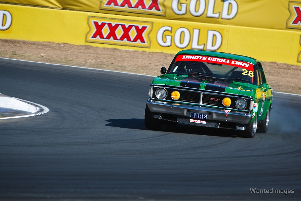 Brad Tilley - 1971 Ford Falcon XY GT by WantedImages
