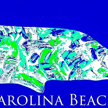 Carolina Beach whale by barryknauff