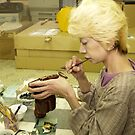 Japanese Craftswoman  by johnrf