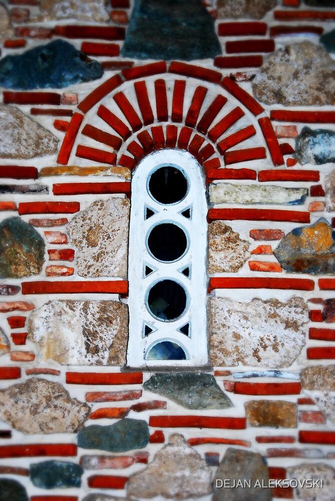 Church window by DEJAN ALEKSOVSKI